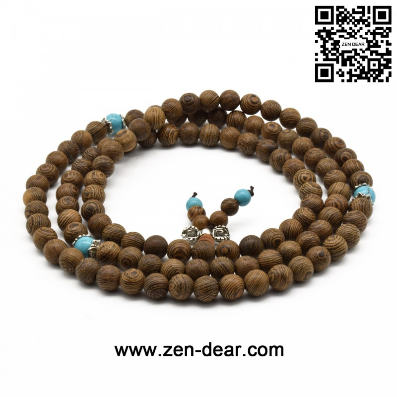green sandalwood bead mala p necklace buddhist prayer bracelet